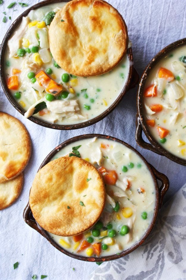 Chicken Pot Pie Soup | Community Post: 21 Insanely Easy Single-Dish Meals That Will Change Your Life