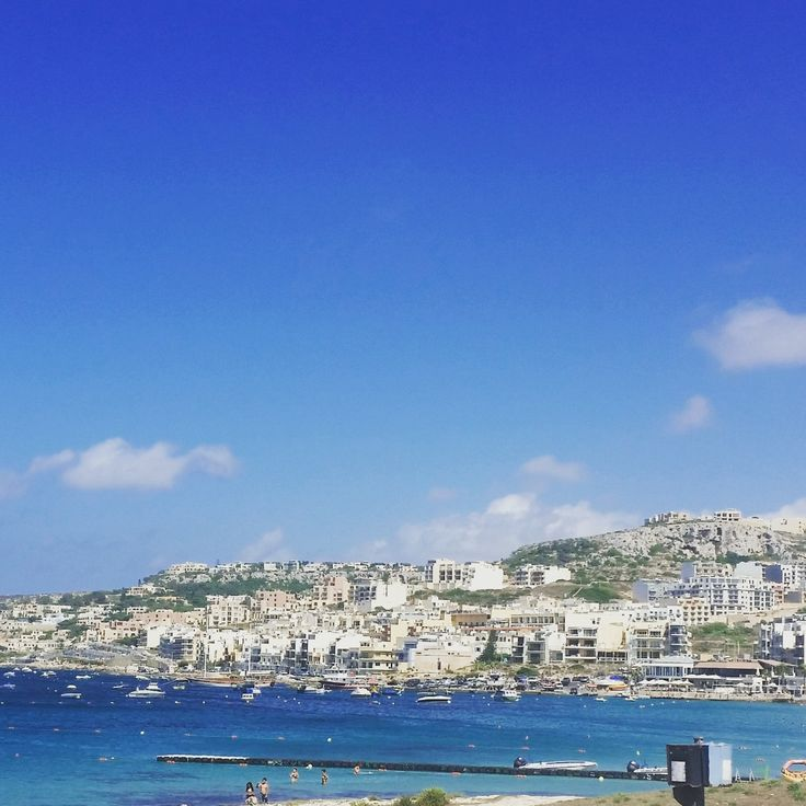 Mellieha bay, Malta - beautiful place
