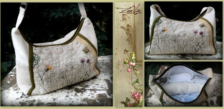 Embroidered baby-bag by ZerVir