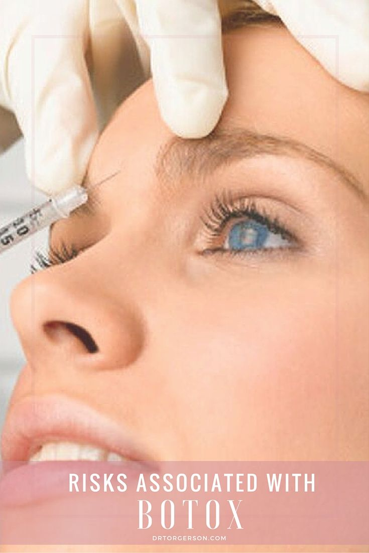 Risks Associated with Botox. Despite the ongoing triumphs that Botox has achieved, potential risks must be examined. Read More: http://drtorgerson.com/non-surgical-procedures/botox-toronto/risks-associated-with-botox/ #botox   #beauty   #rejuvenation   #facialrejuvenation   #dermalfillers