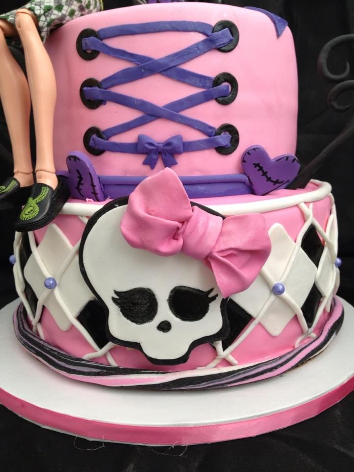 Monster High Cupcakes Cake