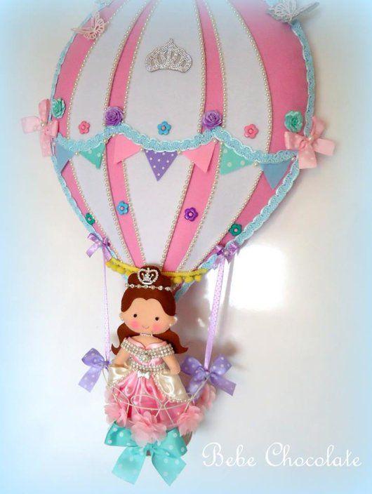Uçan balonlu kapı süsleri