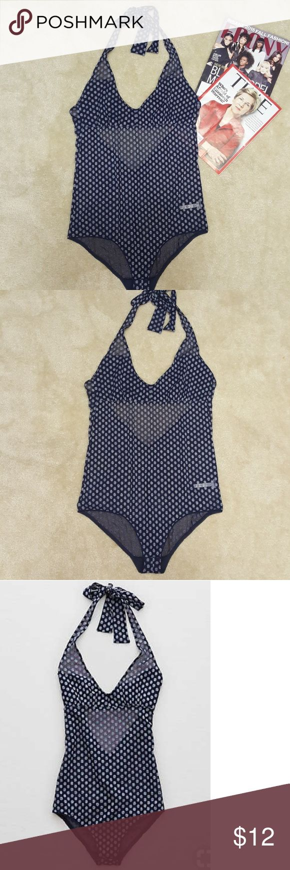 Aerie Real obsessed halter bodysuit Brand new without tags. Smoke and pet free home American Eagle Outfitters Tops