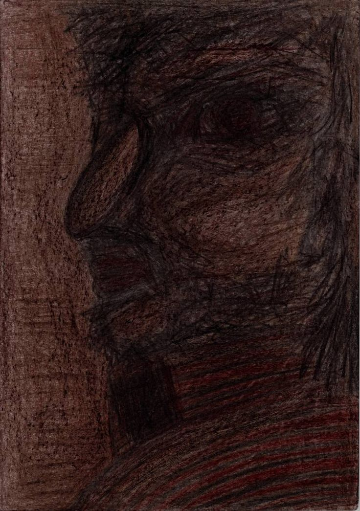 "Drawing: Pastel and Pencil on Paper.   Size: 11.7 H x  8.3 W x  0  in   Spectator ""The Sentinel"". A supervisory – control state functions from higher international organizations or States. He is present in all social classes and occupations.   All the characters are fictional, representing types of people. There are not portraits of real man or woman."