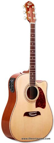 Oscar Schmidt OG2-CE Acoustic Guitar Cutaway with pickup