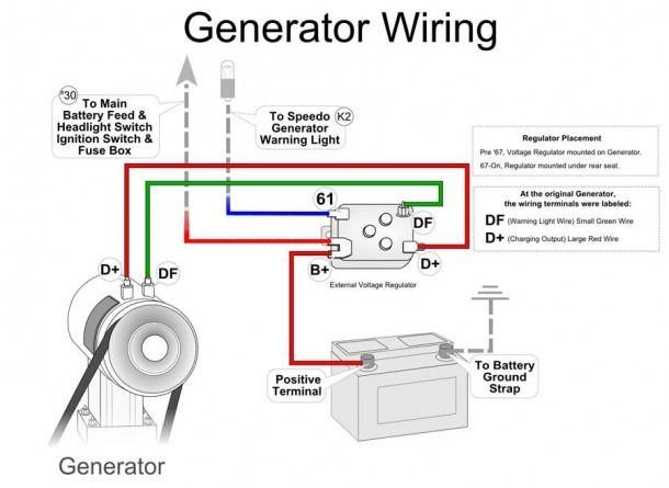 bosch voltage regulator wiring diagram  vintage vw vw