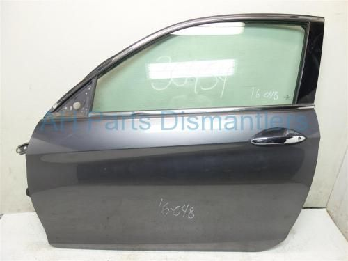 Used 2013 Honda Accord LEFT DRIVER DOOR GRAY DOES NOT COME WITH MIRROR OR INNER TRIM PANEL . Purchase from https://ahparts.com/buy-used/2013-Honda-Accord-Front-LEFT-DRIVER-DOOR-GRAY/108592-1?utm_source=pinterest
