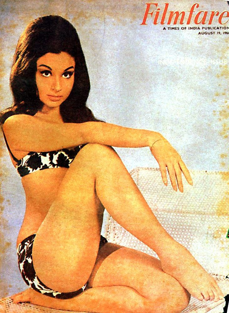 The classic, sometimes controversial Sharmila Tagore. An Indian style icon.