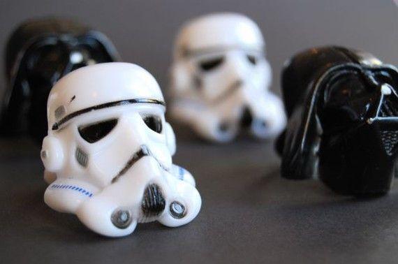 Star Wars Rings or Cupcake Toppers (12)
