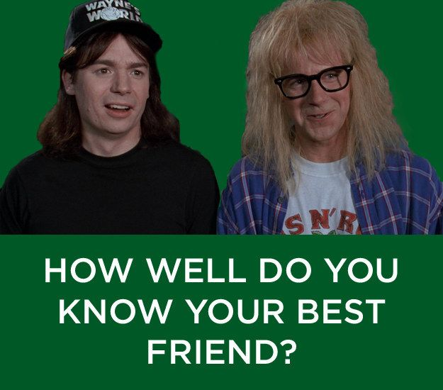 How Well Do You Know Your Best Friend?