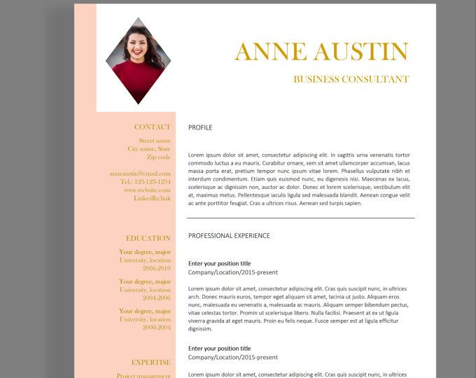 16 best Resume templates images on Pinterest Cv template, Resume - best resume templates
