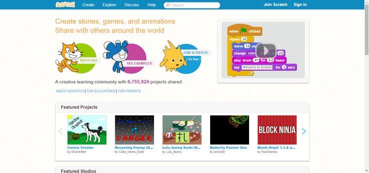 Scratch - Imagine, Program, Share Educational game #HomeEducation #HomeSchool
