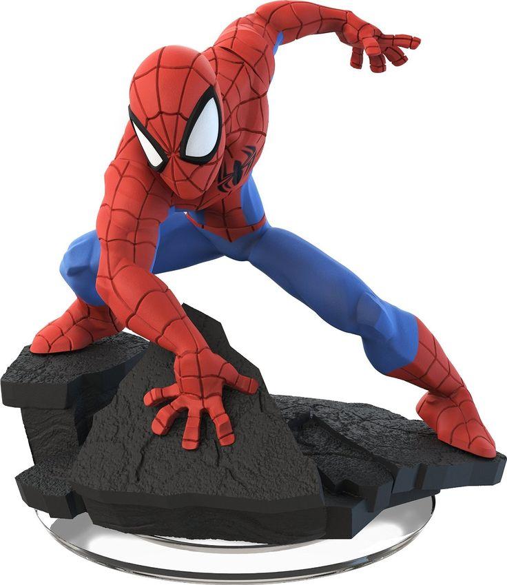 Spider-Man - Disney Infinity 2.0 - Toy Sculpt, Shane Olson on ArtStation at https://www.artstation.com/artwork/584kO