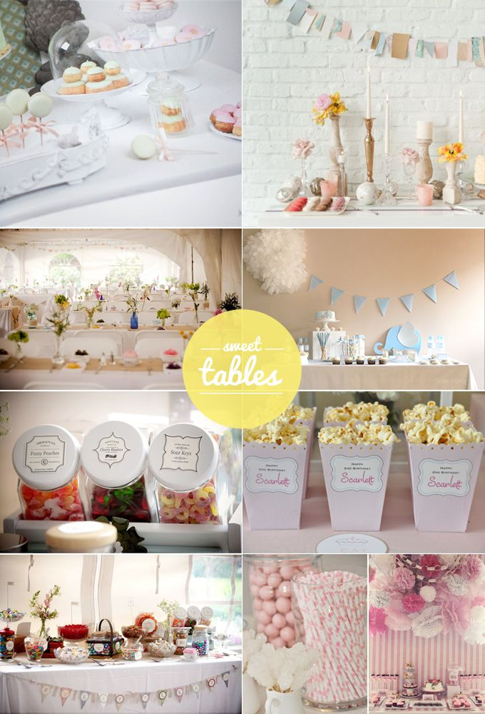 Buenas ideas para hacer una Mesa Dulce: Ideas For, Good Ideas, Buena Ideas, Sweet Tables, Sweet Buffet, Ideas Es, Candilici Sweet, Tables Ideas, These Ideas
