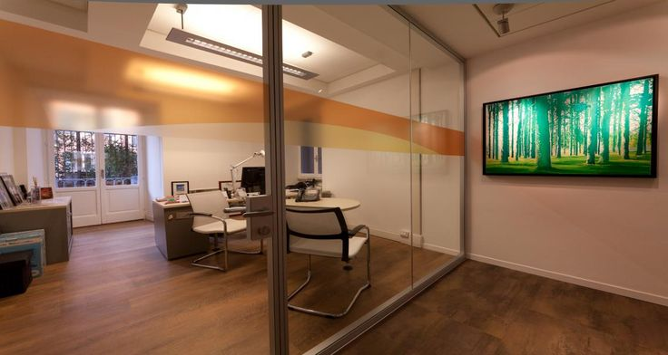 Individual office into the premises of Mastercard in Rome, Italy