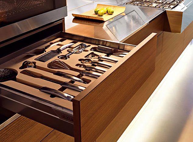 Italian Modern Kitchens | Kube Modern Italian Kitchen Designs