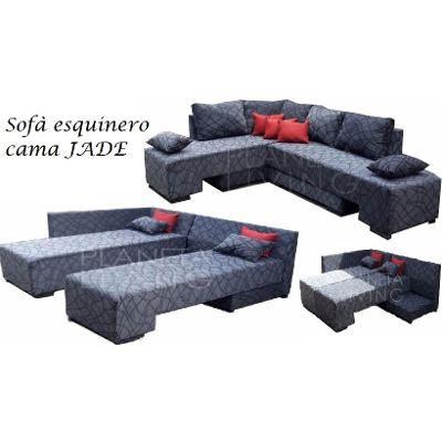 Sillon Esquinero Cama 2 Plazas, Eco Cuero + Regalo - $ 10.000,00