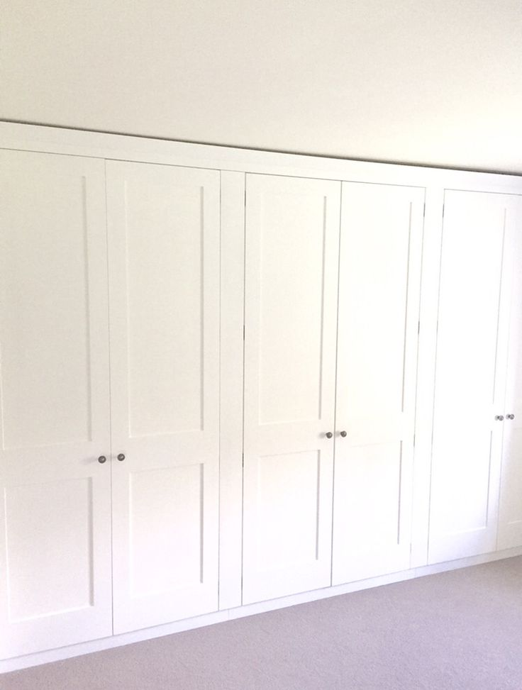 Fitted wardrobes made by Holkham Joinery - handmade joinery and plantation shutters, made in the uk to any size and style.  http://www.holkhamjoinery.co.uk/ 01553 673516 #handmade #fitted #wardrobe #white #wood #quality #joinery #interior #design