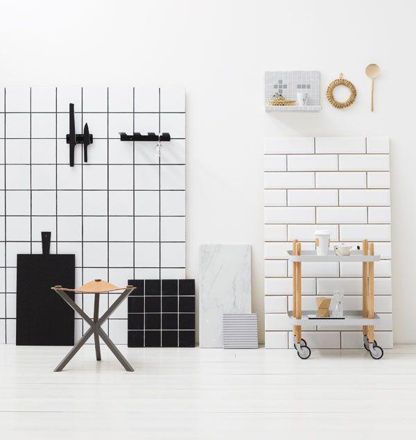 Block table by Normann Copenhagen. Styling by Tina Hellberg, from Elle Interiör.