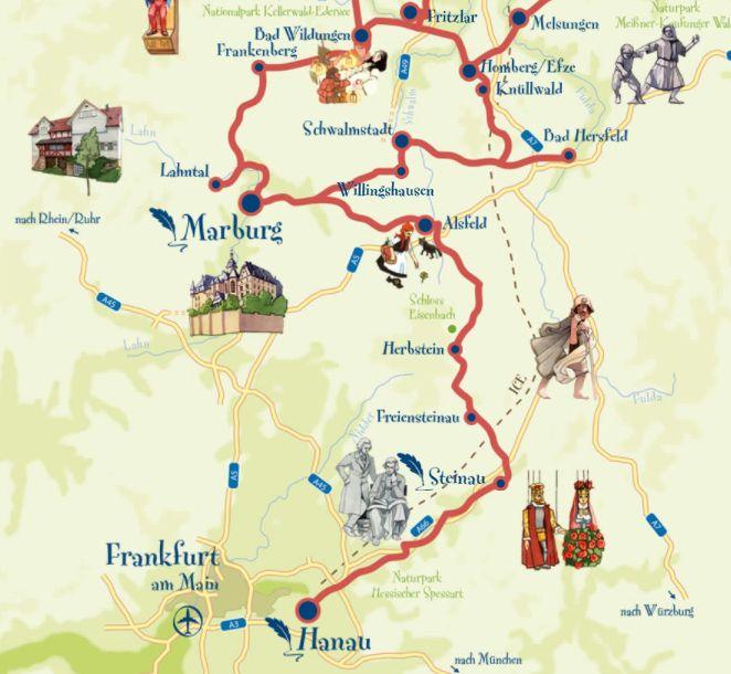 ruta alemania con ninos