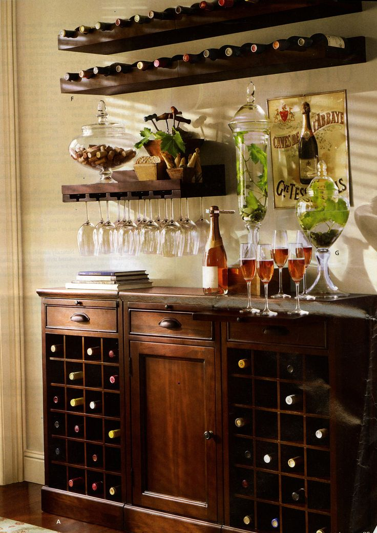 Wine Bar For The Home Pinterest