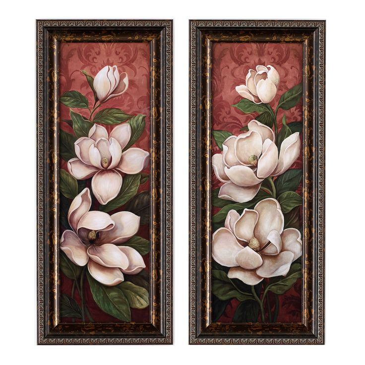 Framed Wall Art Set Of 2 36 best magnificent magnolias images on pinterest | magnolia