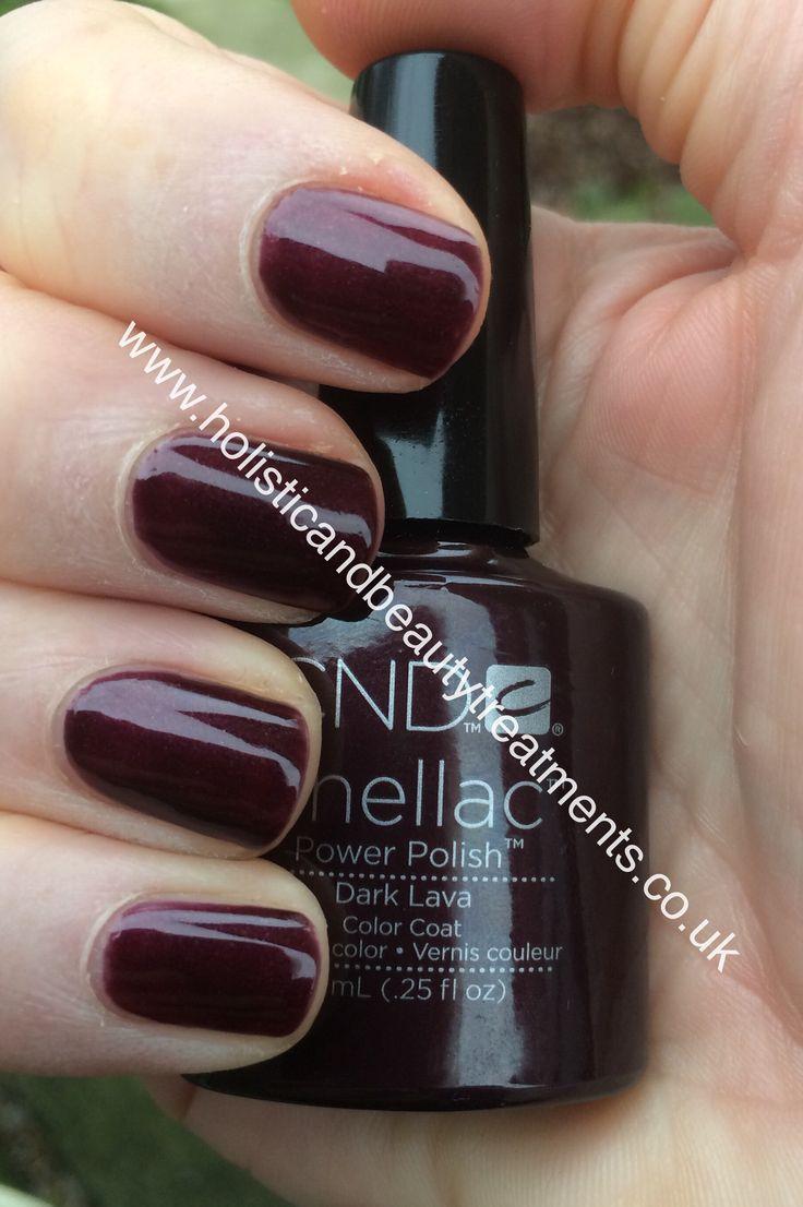 CND Shellac Dark Lava with Ruby Ritz