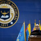 """7 #UMich addresses make NPR's list of """"Best Commencement Speeches Ever!"""" #MgoGrad"""
