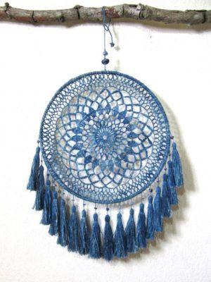 atrapa sueños azul                                                                                                                                                                                 Más