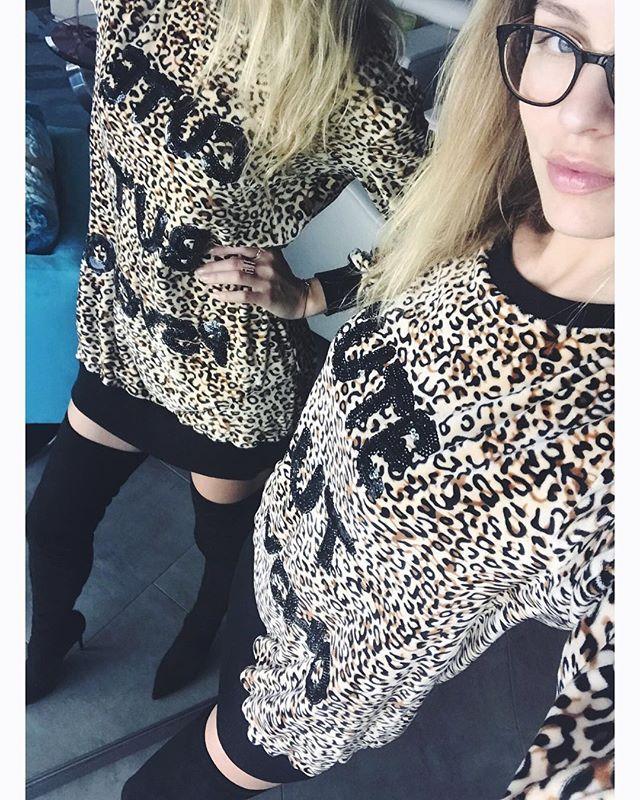 CUTE but PSYCHO Wear it as a hoodie or as a dress #kattiva