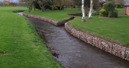 stream bank erosion protection