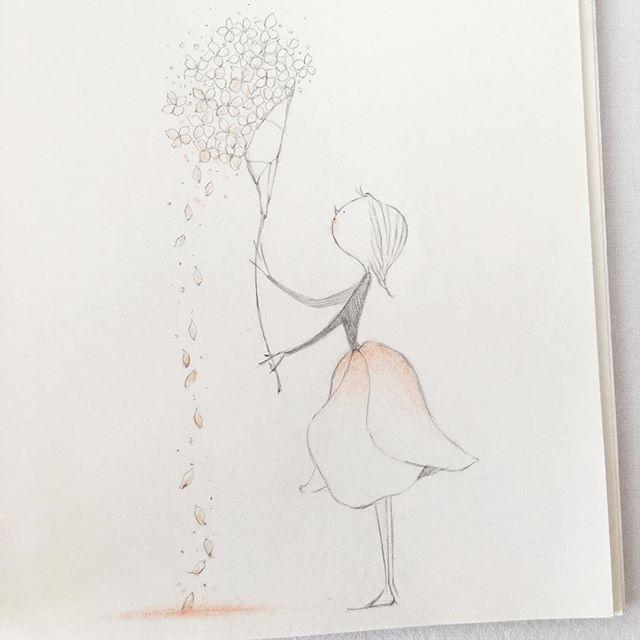 . . . . 다녹기전에 한입하세요 . . . . . . Copyrightⓒ느림새.All Right Reserved #illust #workroom #pencil #sketch #drawing #happy #gardener #flower #nature #hoper #daily #hydrangea #icecream #일러스트 #작업실 #느림새 #바람숨흐르다 #연필 #그림 #스케치 #드로잉북 #아이스수국? #수국스크림? #암튼 #녹지마녹지마~ #