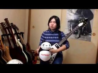 "Momo: MSG - Into The Arena   It is my first challenge in three years. Next year I will devote. Have a nice new year everyone. Momo 16 years old ""INTO THE ARENA"" / MSG guitar cover take 2 Momo"