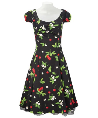 LD380 - Cherrilicious 50's Dress  - Cherrilicious 50's Dress, Women's Dresses and Tunics, Womens Clothing, Clothing, Accessories, Joe Browns