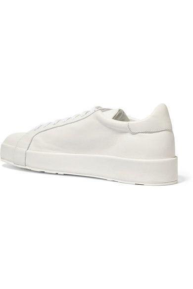 Jil Sander - Leather Sneakers - White - IT40