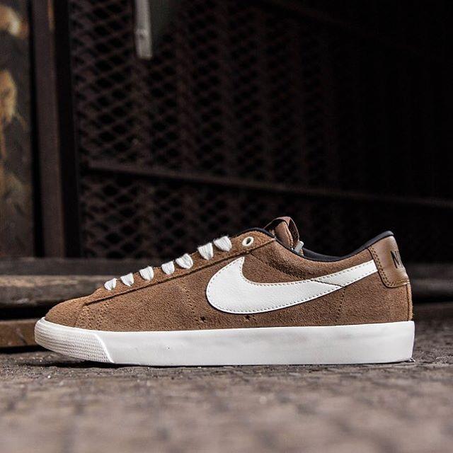 Nike SB Blazer Low GT: Ale Brown