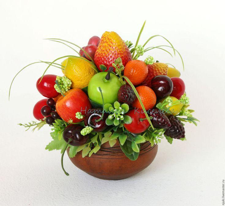 Композиция с фруктами На Десерт – купить в интернет-магазине на Ярмарке Мастеров с доставкой - 8BN9VRU