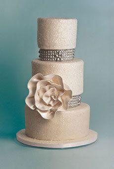 Cake by Sugar Couture - Cake Decor Ideas (via Brides.com)