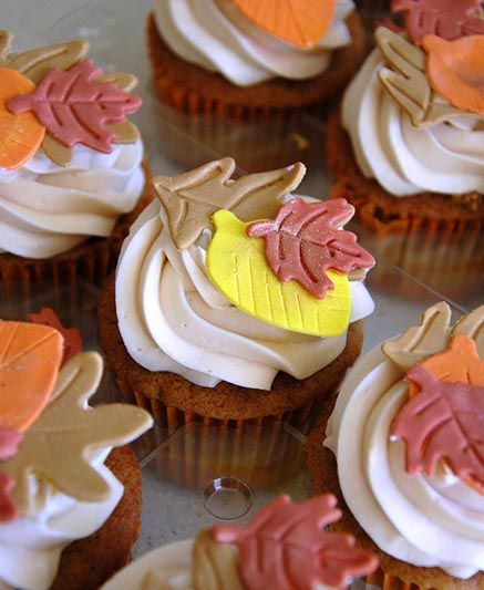 Beautiful Autumn Cupcakes Collection from Flickr