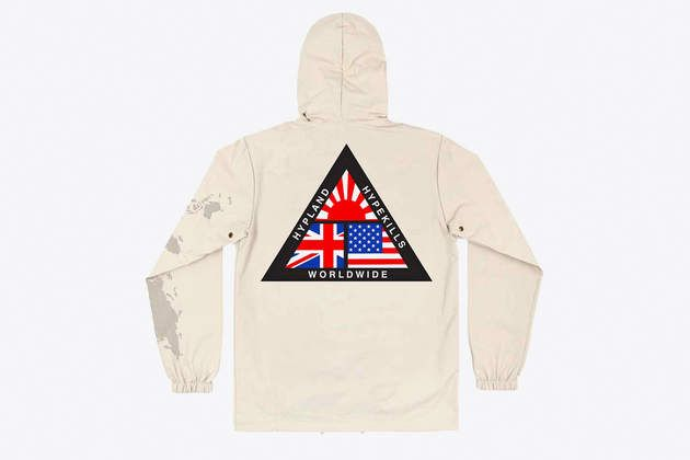 17 best hypland images on pinterest all products world famous and international rain jacket by hypland on what drops now gumiabroncs Choice Image