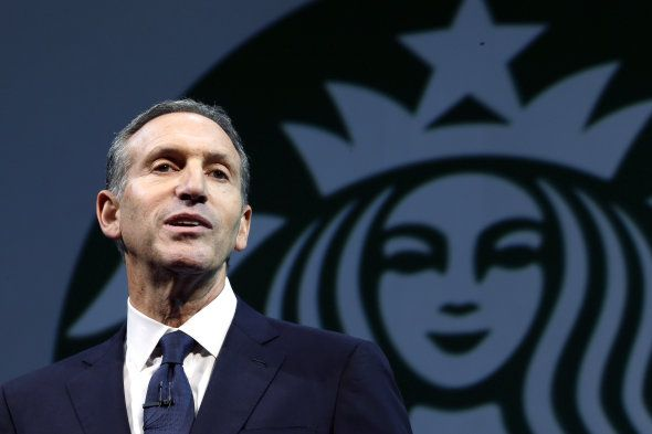 Starbucks CEO Howard Schultz launches petition to reopen the government