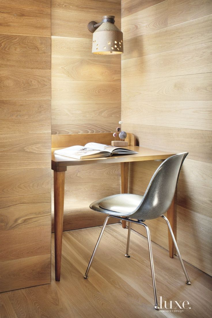 office interiors and design. Luxeinteriorsanddesign U201c 27 Desks To Inspire Your InnerStudent This Art Studio Cove Is Home A Vintage Library Desk An Overhead Sconce Provides Office Interiors And Design C