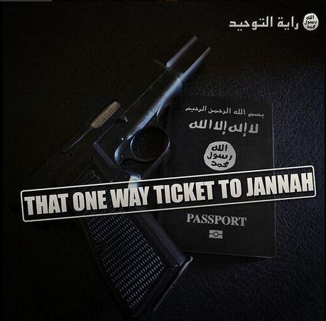 Jihad fisabilillah; that one way ticket to Jannah. #SelfReminder