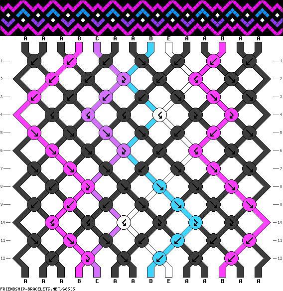 http://friendship-bracelets.net/pattern.php?id=64679 .... http://friendship-bracelets.net/pattern.php?id=64676