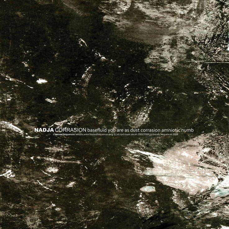 Image of Nadja - Corrasion (LP)