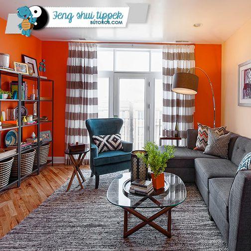 A SZÍNEK JELENTÉSE: NARANCS | A narancssárga a feng shui-ban az energia és a lendületesség színe. Melegséget és rokonszenvet áraszt, ezért nagyszerűen működik minden olyan helyiségben, ahol barátságok köttetnek - a nappaliban és az étkezőben, vagy ahol szellemi frissességre van szükség - a dolgozó- vagy tanulószobában. #fengshui #narancs