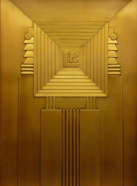 #Lefcourt Art Deco Elevator #Lefcourt