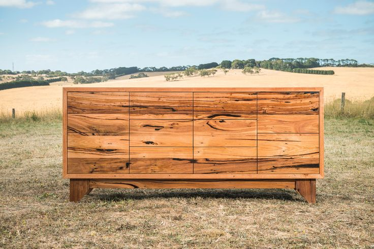 Apollo Bay Buffet - Character filled Messmate timber buffet with drawers.  Made to order in Torquay on the Victorian surf coast