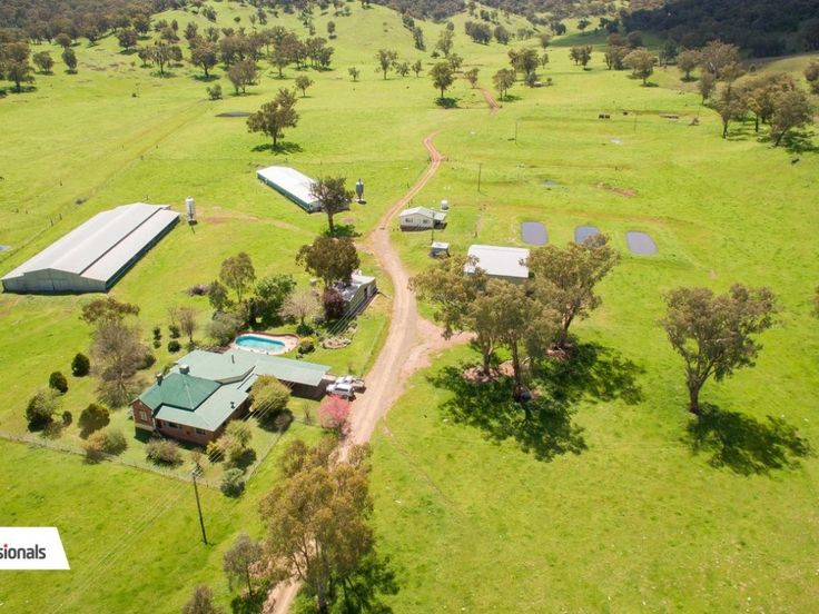 "For Sale: ""Iona"" - 400 Acres, Dungowan  The property boasts a spacious federation style homestead with inground swimming pool, 1 br workers cottage with machinery, hay and ex-chicken sheds.  #NewSouthWales #Australia #ForSale #FarmProperty #RealEstate #FarmForSale #LuxuryRealEstate #Farm #FarmingAustralia #Agriculture"