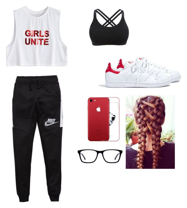 """Sport girl"" by maleja-castro-torres on Polyvore featuring moda, NIKE y Madewell"